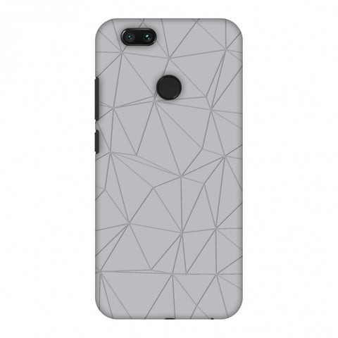 Carbon Fibre Redux Stone Gray 13 Slim Hard Shell Case For Xiaomi MI A1-5X