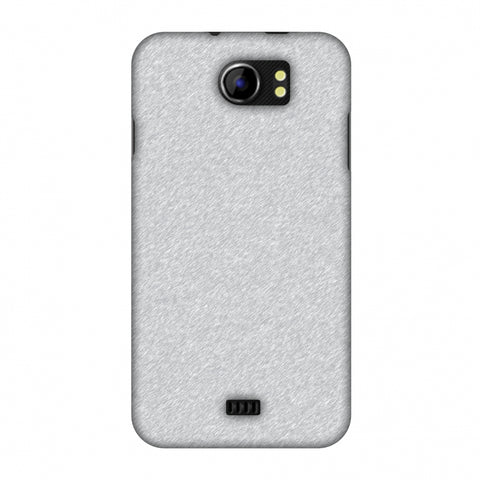 Carbon Fibre Redux Stone Gray 14 Slim Hard Shell Case For Micromax Canvas 2 A110