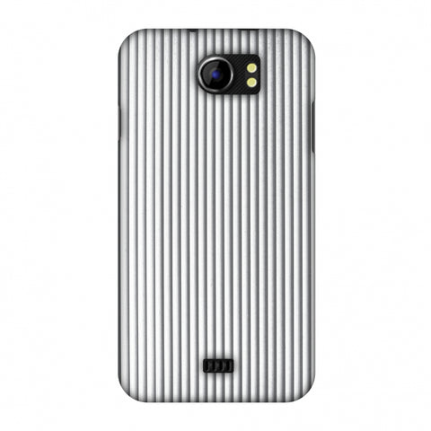 Carbon Fibre Redux Stone Gray 15 Slim Hard Shell Case For Micromax Canvas 2 A110