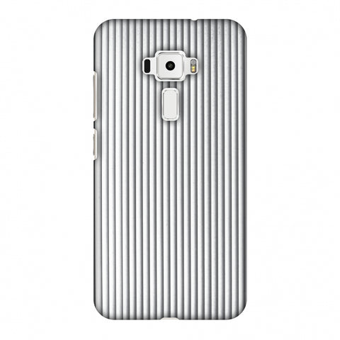 Carbon Fibre Redux Stone Gray 15 Slim Hard Shell Case For Asus Zenfone 3 ZE520KL