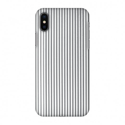 Carbon Fibre Redux Stone Gray 15 Slim Hard Shell Case For Apple iPhone X
