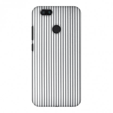 Carbon Fibre Redux Stone Gray 15 Slim Hard Shell Case For Xiaomi MI A1-5X