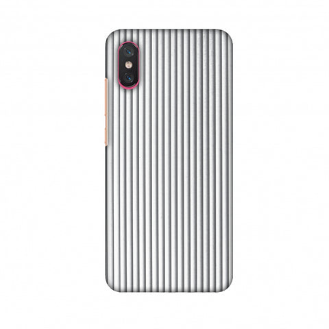 Carbon Fibre Redux Stone Gray 15 Slim Hard Shell Case For Xiaomi Mi 8 Pro