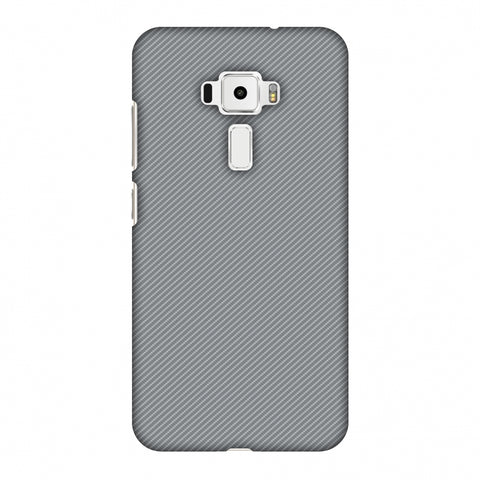 Carbon Fibre Redux Stone Gray 16 Slim Hard Shell Case For Asus Zenfone 3 ZE520KL