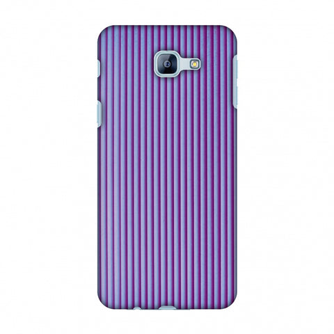 Carbon Fibre Redux Electric Violet 8 Slim Hard Shell Case For Samsung Galaxy A8 2016