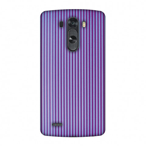 Carbon Fibre Redux Electric Violet 8 Slim Hard Shell Case For LG G4
