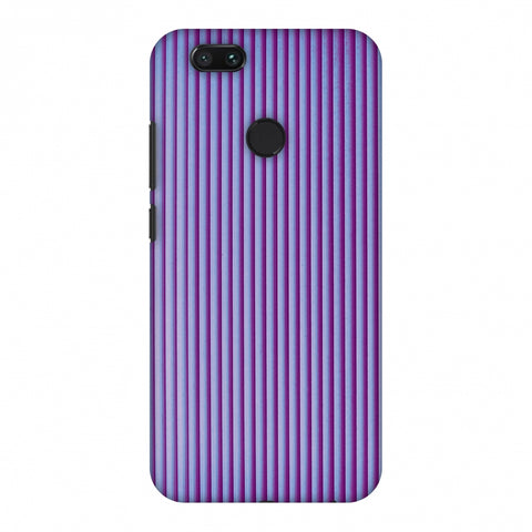 Carbon Fibre Redux Electric Violet 8 Slim Hard Shell Case For Xiaomi MI A1-5X