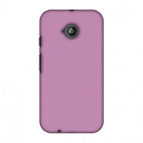 Carbon Fibre Redux Electric Violet 9 Slim Hard Shell Case For Motorola Moto E 2nd Gen