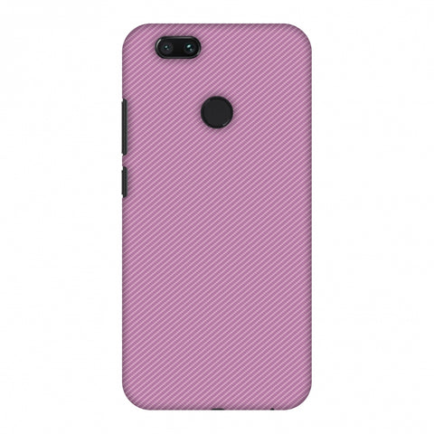 Carbon Fibre Redux Electric Violet 9 Slim Hard Shell Case For Xiaomi MI A1-5X