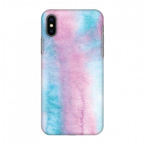 Galaxy Marble 1 Slim Hard Shell Case For Apple iPhone X