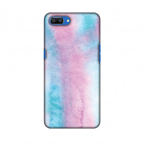 Galaxy Marble 1 Slim Hard Shell Case For Oppo Realme C1