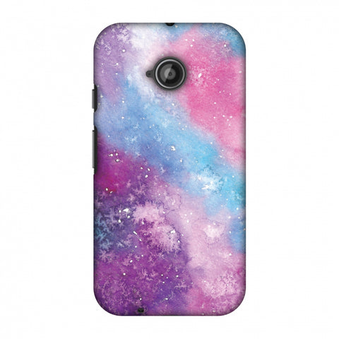 Galaxy Marble 2 Slim Hard Shell Case For Motorola Moto E 2nd Gen