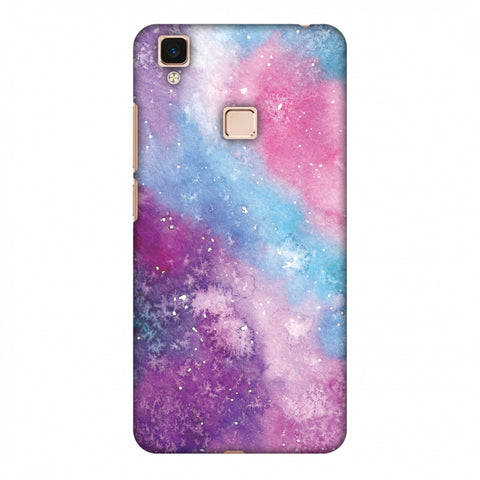 Galaxy Marble 2 Slim Hard Shell Case For Vivo V3 Max