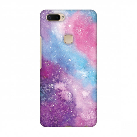 Galaxy Marble 2 Slim Hard Shell Case For Vivo X20 Plus