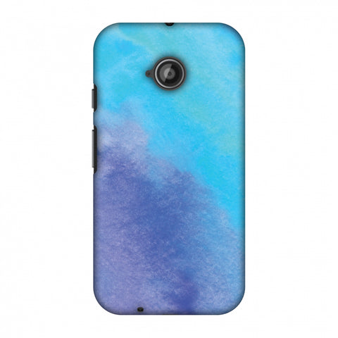 Galaxy Marble 3 Slim Hard Shell Case For Motorola Moto E 2nd Gen