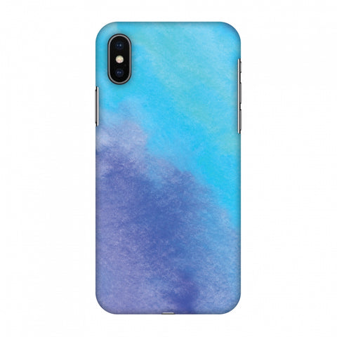 Galaxy Marble 3 Slim Hard Shell Case For Apple iPhone X