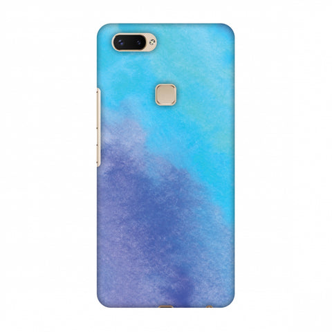 Galaxy Marble 3 Slim Hard Shell Case For Vivo X20 Plus