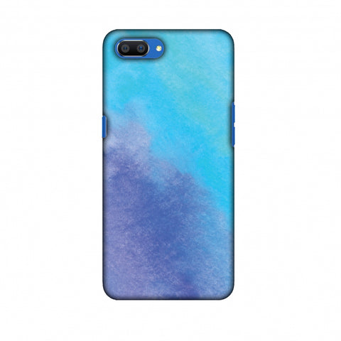 Galaxy Marble 3 Slim Hard Shell Case For Oppo Realme C1