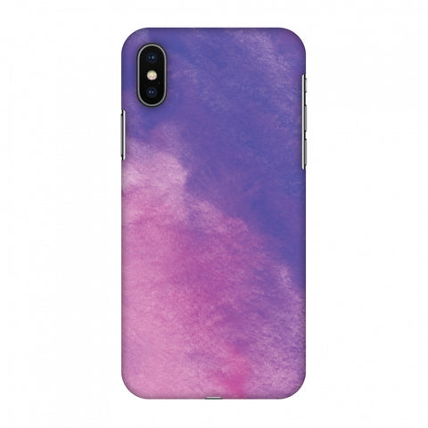 Galaxy Marble 4 Slim Hard Shell Case For Apple iPhone X
