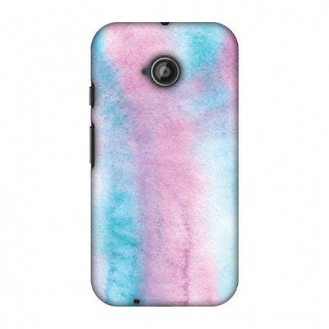 Galaxy Marble 5 Slim Hard Shell Case For Motorola Moto E 2nd Gen
