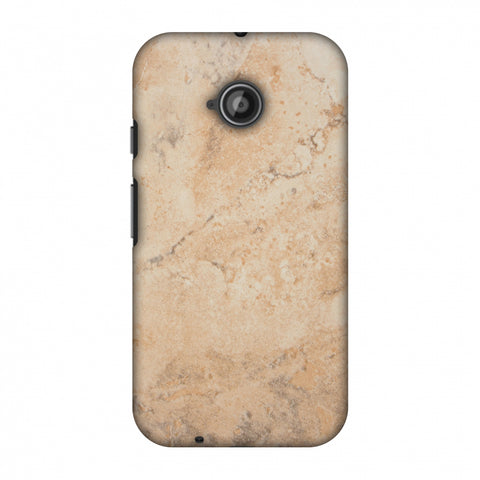 Pine Marble Slim Hard Shell Case For Motorola Moto E 2nd Gen