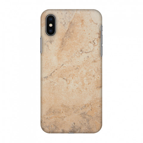 Pine Marble Slim Hard Shell Case For Apple iPhone X