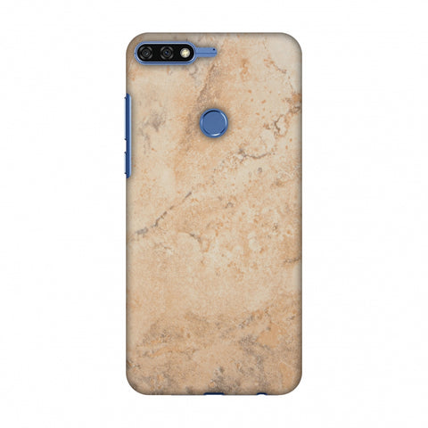 Pine Marble Slim Hard Shell Case For Huawei Honor 7C