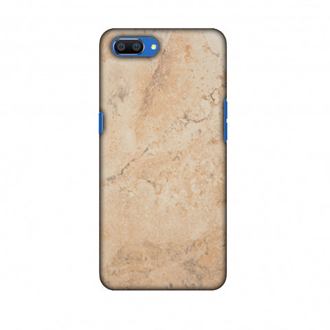 Pine Marble Slim Hard Shell Case For Oppo Realme C1