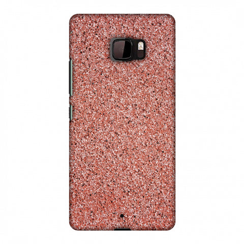 Coral Marble Slim Hard Shell Case For HTC U Ultra