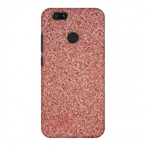 Coral Marble Slim Hard Shell Case For Xiaomi MI A1-5X