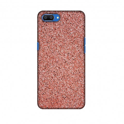 Coral Marble Slim Hard Shell Case For Oppo Realme C1