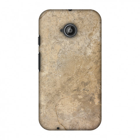 Copper Marble Slim Hard Shell Case For Motorola Moto E 2nd Gen