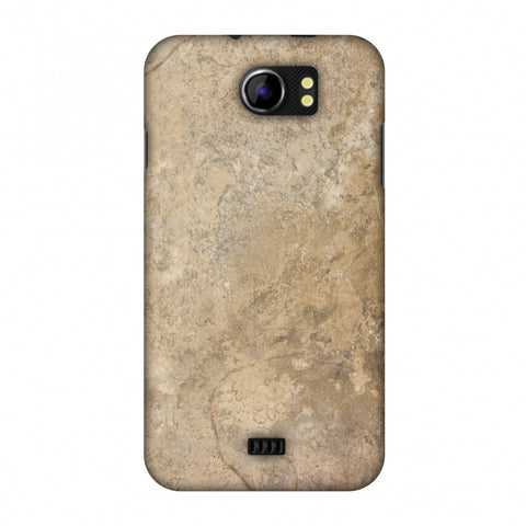 Copper Marble Slim Hard Shell Case For Micromax Canvas 2 A110
