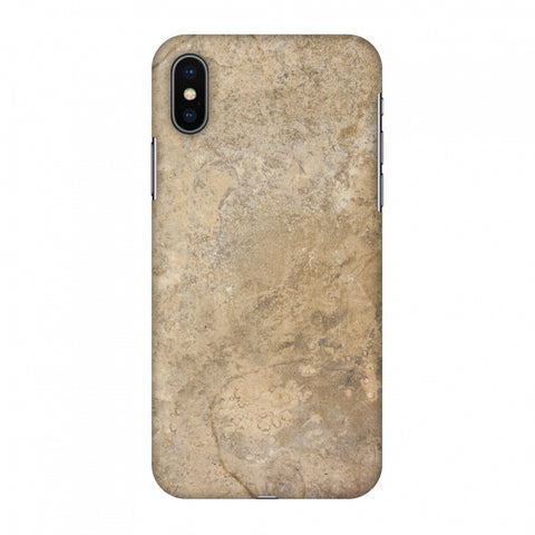 Copper Marble Slim Hard Shell Case For Apple iPhone X