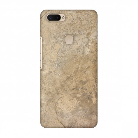 Copper Marble Slim Hard Shell Case For Vivo X20 Plus