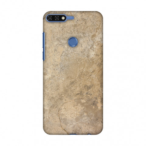 Copper Marble Slim Hard Shell Case For Huawei Honor 7C