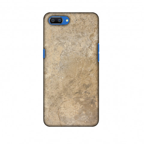 Copper Marble Slim Hard Shell Case For Oppo Realme C1