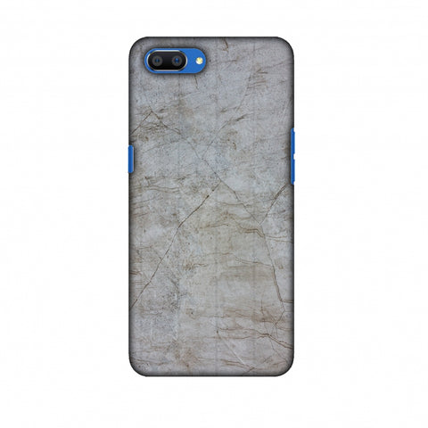 Roma Marble Slim Hard Shell Case For Oppo Realme C1