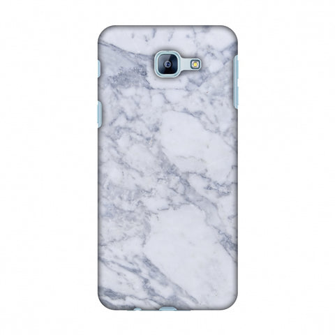 White Marble 1 Slim Hard Shell Case For Samsung Galaxy A8 2016