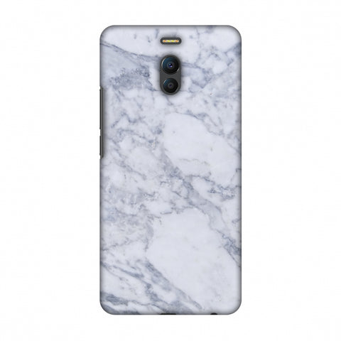 White Marble 1 Slim Hard Shell Case For Meizu Note 6