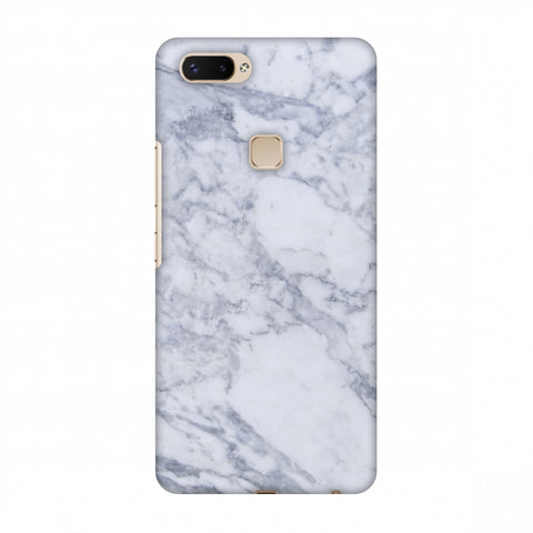 White Marble 1 Slim Hard Shell Case For Vivo X20 Plus