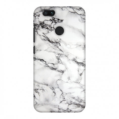 White Marble 2 Slim Hard Shell Case For Xiaomi MI A1-5X