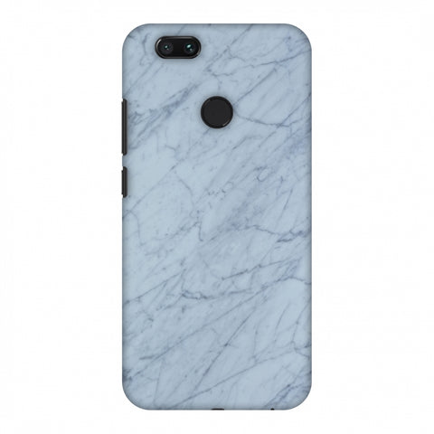 White Marble 3 Slim Hard Shell Case For Xiaomi MI A1-5X