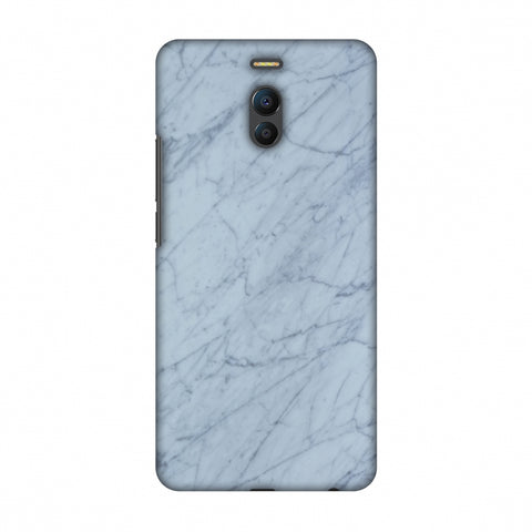 White Marble 3 Slim Hard Shell Case For Meizu Note 6