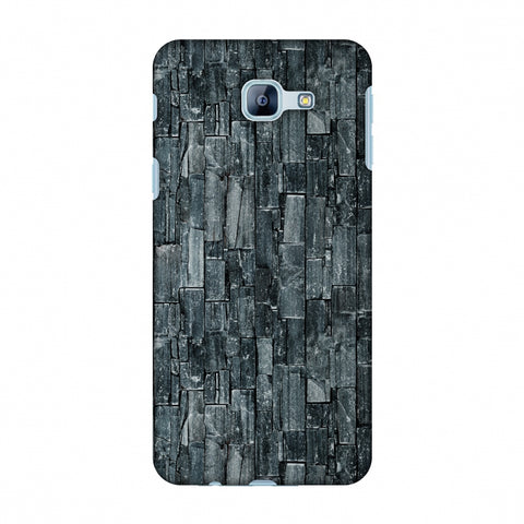 Charcoal Marble Slim Hard Shell Case For Samsung Galaxy A8 2016