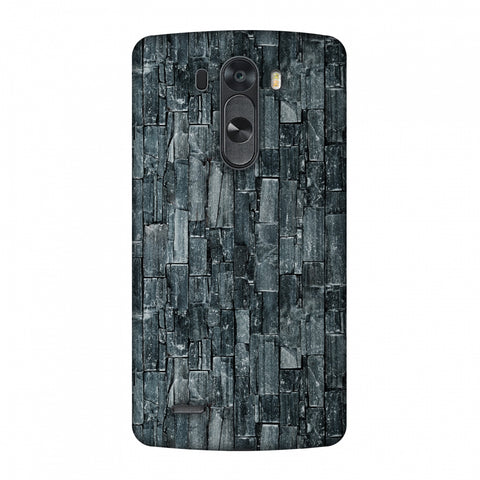 Charcoal Marble Slim Hard Shell Case For LG G4