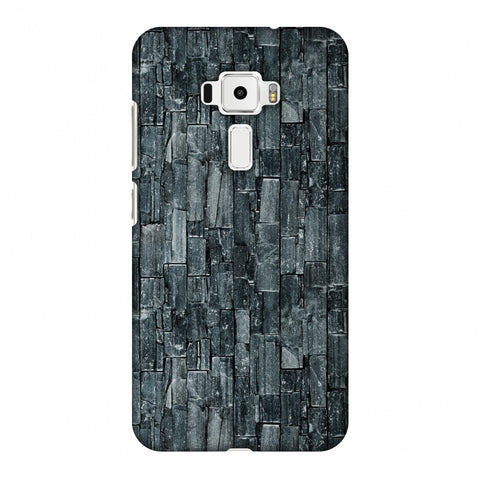 Charcoal Marble Slim Hard Shell Case For Asus Zenfone 3 ZE520KL