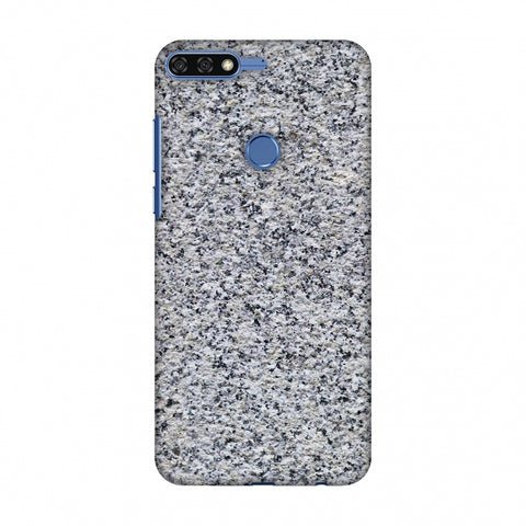 Granite Marble Slim Hard Shell Case For Huawei Honor 7C