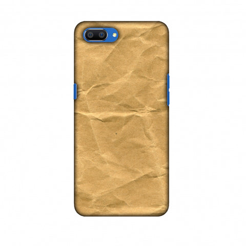 Rock Marbel Slim Hard Shell Case For Oppo Realme C1