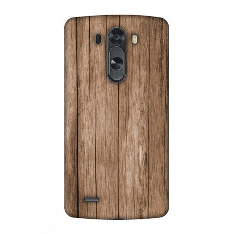 Walnut Wood Slim Hard Shell Case For LG G4